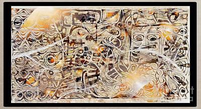 Digital Art - On Olympus 3810 by Marek Lutek