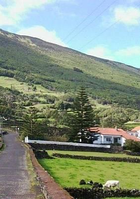 Photograph - On Pico Island, Azores by Julia Woodman