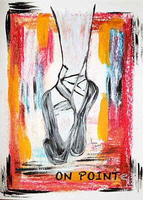Painting - On Pointe by Artista Elisabet