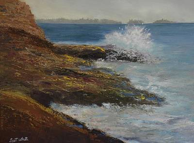Painting - On Rocky Ledge by Scott W White