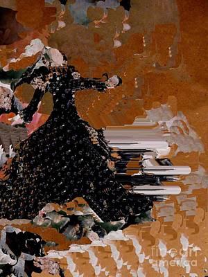 Digital Art - On Stage by Nancy Kane Chapman