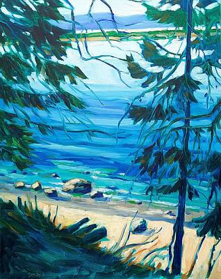 Painting - On Sydney Island #3 by Brian Simons