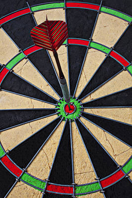 Ring Photograph - On Target Bullseye by Garry Gay