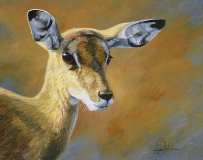 Painting - On The Alert by Lucie Bilodeau