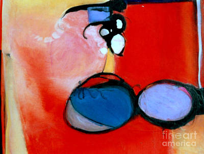 Painting - On The Ball by Marlene Burns