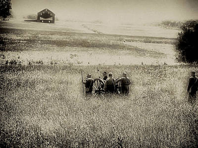 Gettysburg Photograph - On The Battlefield - Gettysburg by Bill Cannon