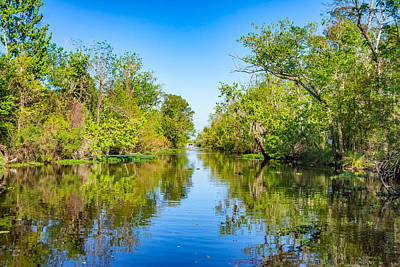 Cypress Swamp Photograph - On The Bayou 3 by Steve Harrington