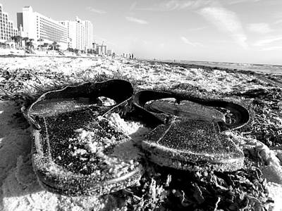 Photograph - On The Beach 000 by Chris Mercer