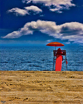 Photograph - On The Beach At Coney Island by Chris Lord