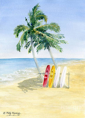 Painting - Tropical View  by Melly Terpening