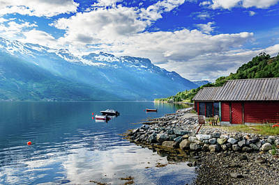 Photograph - On The Beach Of Sorfjorden by Dmytro Korol