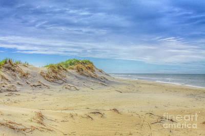 Digital Art - On The Beach by Randy Steele