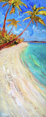 Painting - On The Beach by Shelli Walters