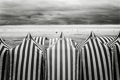 On The Beach Art Print by Toni Guerra