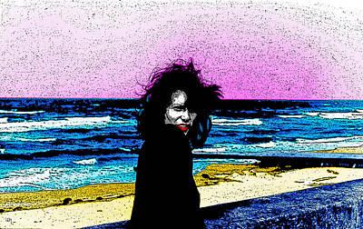 On The Beachfront Art Print