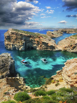 Photograph - On The Beautiful Island Of Comino by Stephan Grixti