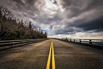 Blowing Rock Nc Photograph - On The Blue Ridge Parkway by Cynthia Wolfe