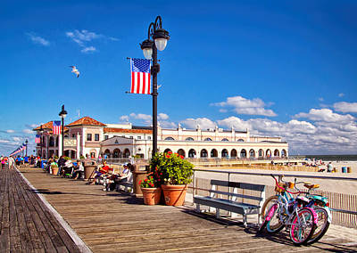 Photograph - On The Boardwalk by Carolyn Derstine