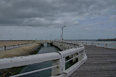 Photograph - On The Boardwalk by Ingrid Dendievel