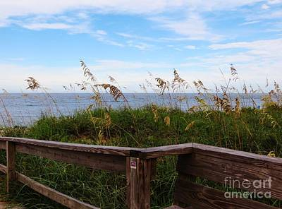 Photograph - On The Boardwalk by Tim Townsend