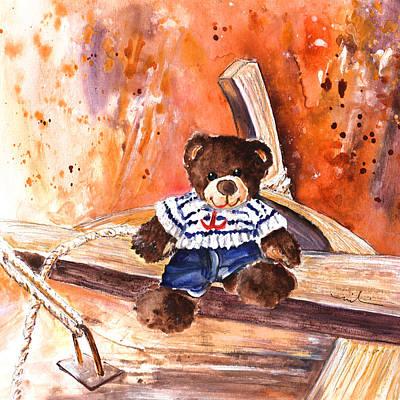 On The Boat In San Jose Art Print by Miki De Goodaboom