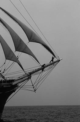 Photograph - On The Bow by David Shuler