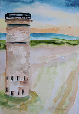 Painting - On The Cape At Henlopen by Cindy Glazier