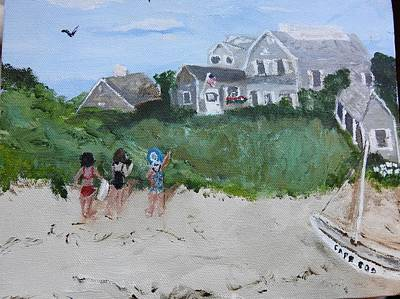 Painting - On The Cape by Jean Forman