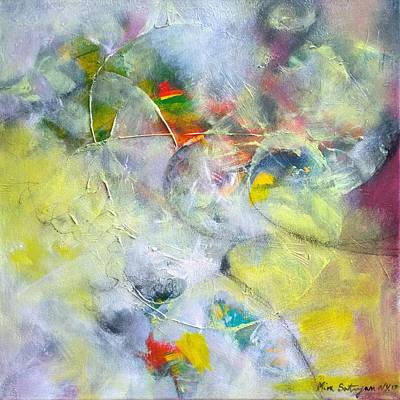 Painting - On The Contrary by Mira Satryan