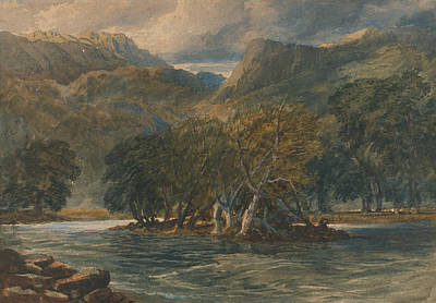 Painting - On The Conway River, North Wales by David Cox