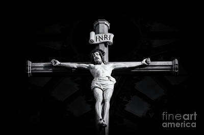Forgiveness Photograph - On The Cross by Tim Gainey