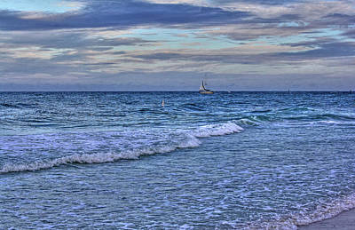 Photograph - On The Deep Blue Sea by HH Photography of Florida