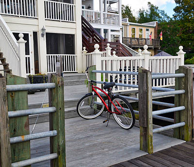 Photograph - On The Dock by Linda Brown