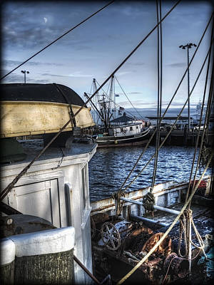 Photograph - On The Docks In Provincetown by Tammy Wetzel
