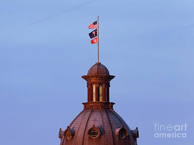 Photograph - On The Dome-3 by Charles Hite