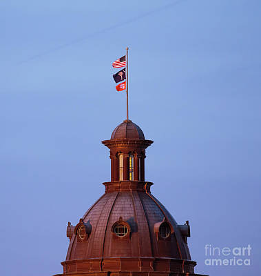 Photograph - On The Dome-4 by Charles Hite