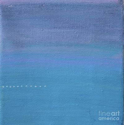 Painting - On The Dotted Line by Kim Nelson