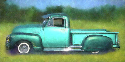 Lowrider Digital Art - On The Down Low by David King