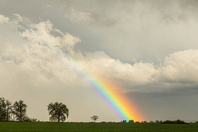 Photograph - On The Edge Of A Rainbow by James BO Insogna