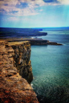 Photograph - On The Edge Of The Cliff by Debra and Dave Vanderlaan