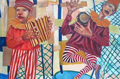 On The Fair Art Print by Jonathan Franklin