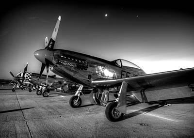 Photograph - On The Flight Line by John King