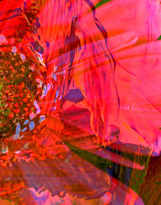 On The Floral Edge  Art Print by Jeff Swan