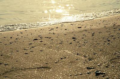 Photograph - On The Golden Shore by Andrea Mazzocchetti