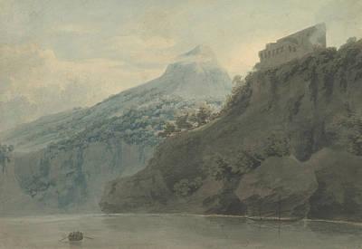 Drawing - On The Gulf Of Salerno Near Vietri by John Robert Cozens