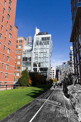 Pathway Digital Art - On The Highline by Terry Weaver