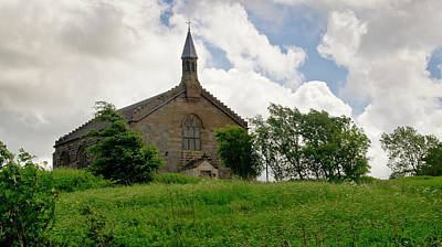 Photograph - On The Hill. Kirk Of Shotts. by Elena Perelman