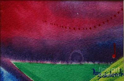 On The Horizon Art Print by Ann Sokolovich