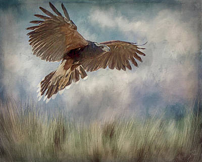 Digital Art - On The Hunt by Teresa Wilson