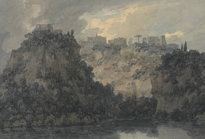Painting - On The Lake Of Nemi by John Robert Cozens